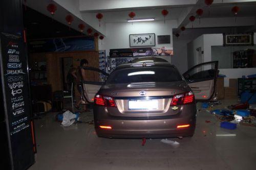 比亚迪g6汽车隔音改装,合肥比亚迪g6汽车音响升级 安徽合肥天高清图片